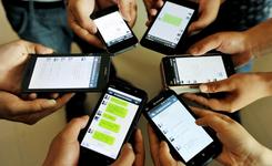 Sociaal gebruik smartphone
