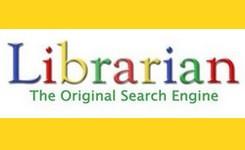 """Het woord """"Librarian"""" in het lettertype van Google"""