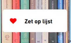 """Knop """"Zet op lijst"""" op achtergrond van boeken"""