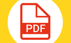 Icoon van pdf-bestand