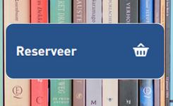 """Knop """"Reserveer"""" uit catalogus voor rij boeken"""